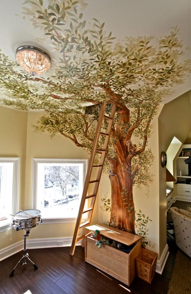 8. Стая за игри със тайна къщичка на дърво